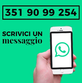 Inviaci un messaggio tramite Whatsapp